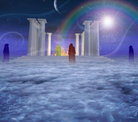 past civilization: Mystic Temple