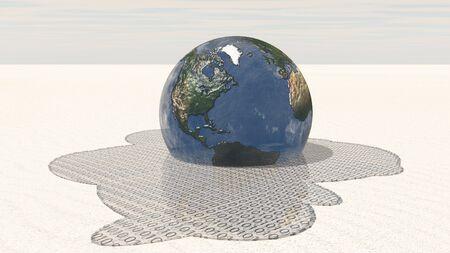 bytes: Earth melts into binary