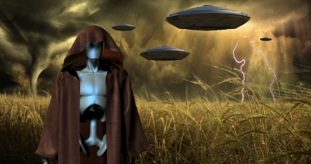 the humanities landscape: Alien Invasion