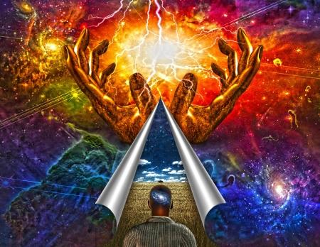 Das Universum im Kopf Mans enthüllt