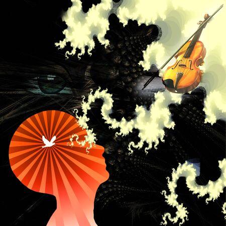 music of mind Stock Photo - 14480965