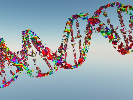 DNA Strand Stock Photo - 14579674