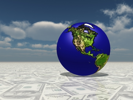 Earth Focus Americas on Dollasr Surface photo