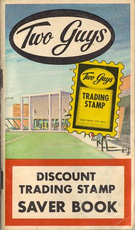 Two Guys Trading Stamp Booklet
