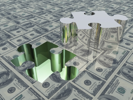 USA Currency Puzzle photo
