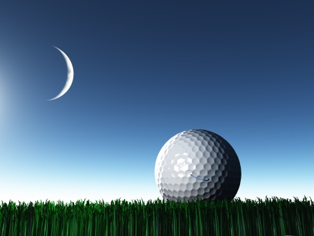 Night Golf photo