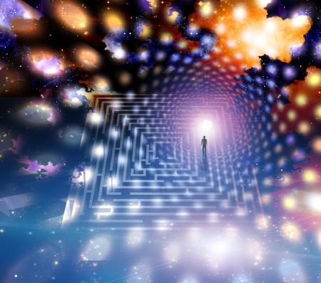 rebirth: Man path journey