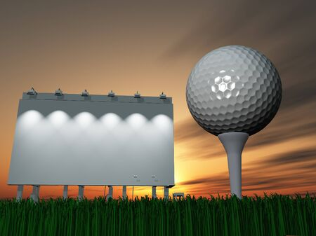 Golf and Billboard photo