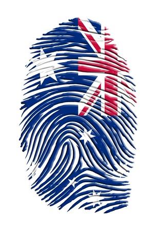 australia flag: Austrialia Idxentity