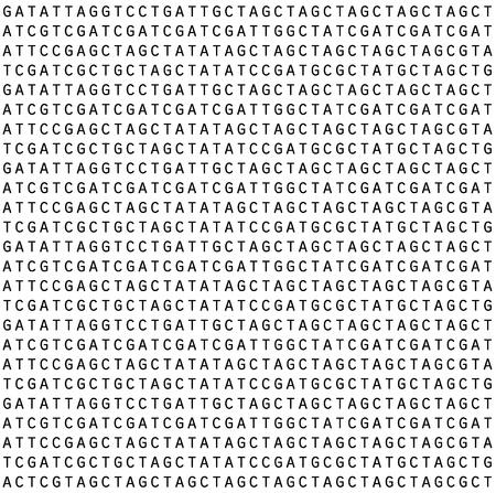 genetica: Semlessly reapetable gentic lettere pattern di sfondo