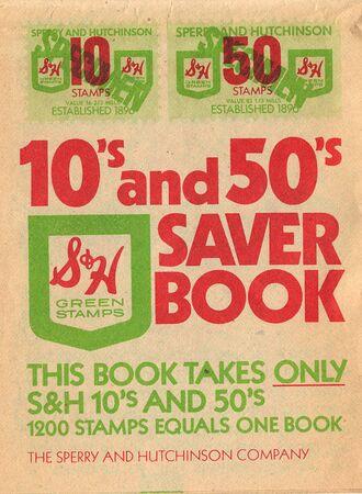sh: SH Trading Stamps Saver Book
