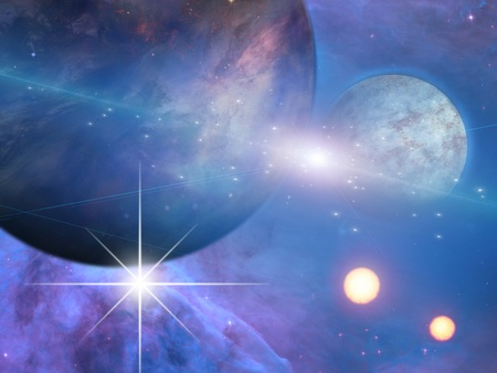 Planets and suns Stock Photo - 16065815