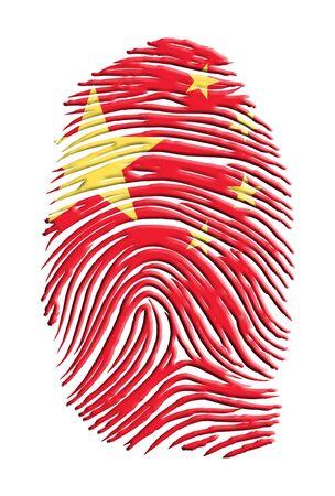 fingerprinted: Chinese Identity