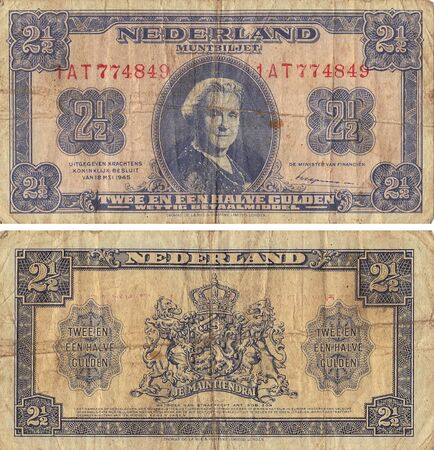two and a half: Netherland Two and One Half Gulden