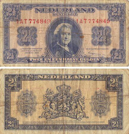 gulden: Netherland Two and One Half Gulden