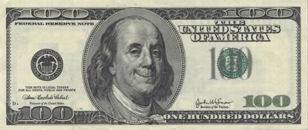 franklin: Smiling Ben Franklin