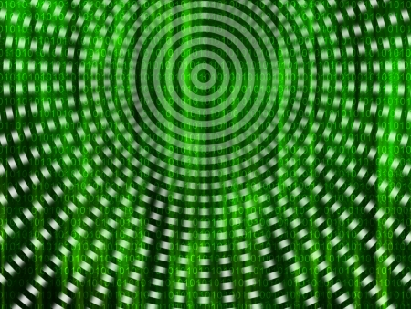 encoded: Binary code streaming