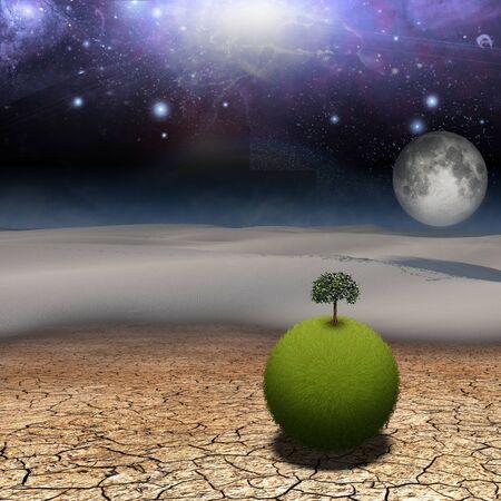3d weird: Fantasy landscape