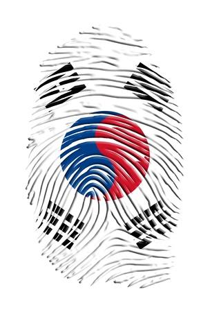 fingerprinted: South Korean Finger print