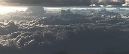 cumulus cloud: Cloud scape
