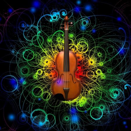 Violin Design Stock Photo - 18688644