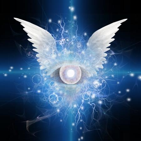 espiritu santo: Ojo alado