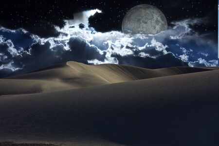 Desert night photo