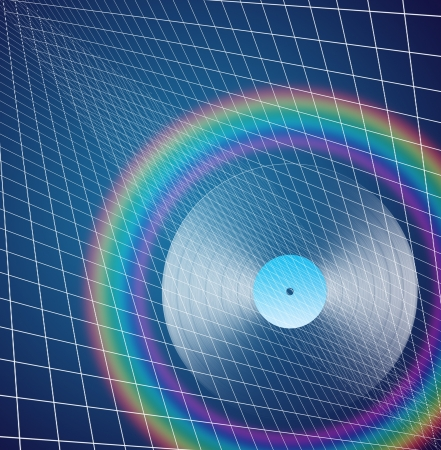 Rainbow LP Stock Photo - 19314666