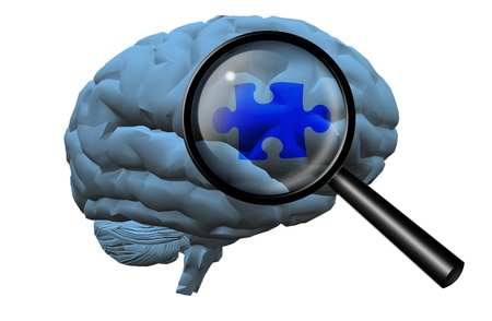 Brain Puzzle Stock Photo - 19449800