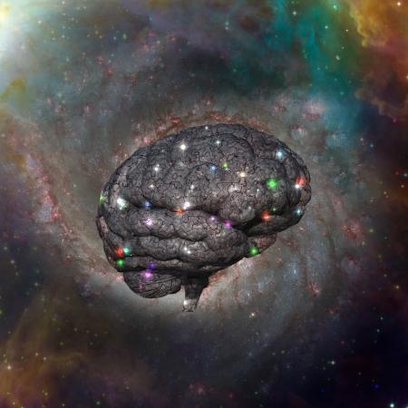 Cosmic Brain Stock Photo - 19687848