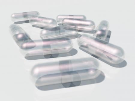 Multiple empty Capsules