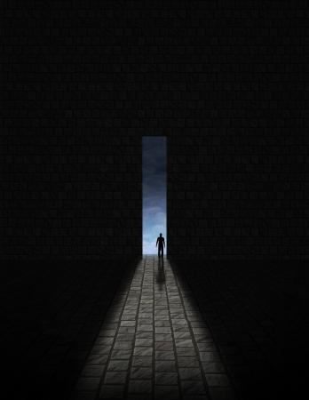 sconosciuto: Uomo prima di grande apertura