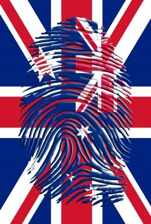 british culture: Austrailia UK Identity Stock Photo
