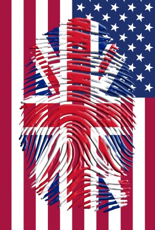 UK USA Identity photo