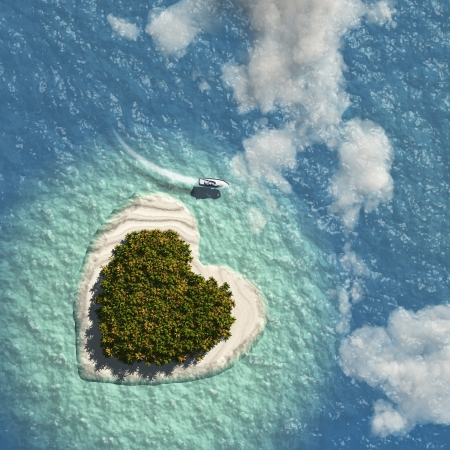 Heart Island Stock Photo - 20167974