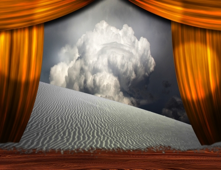 Desert Sands creep into theater scene photo