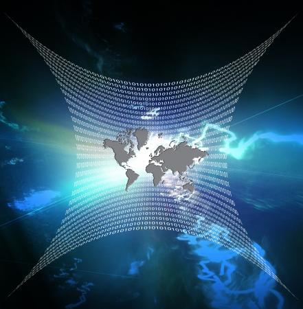 表されるバイナリの web インターネット