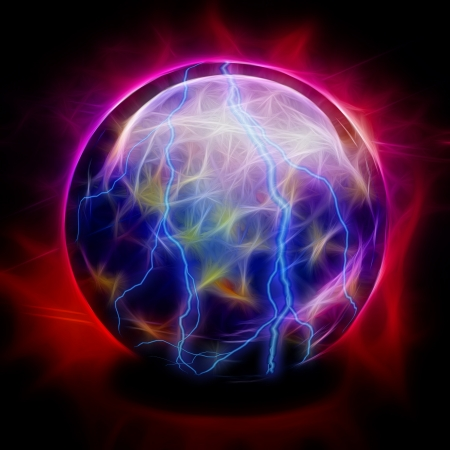 Crystal Ball Electric Stock Photo - 20351836