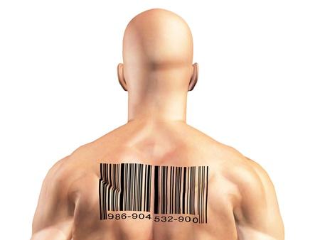 Barcode Man photo