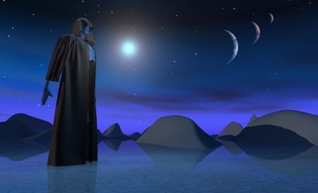 alien landscape: paesaggio alieno