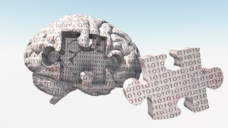 Binary Brain Puzzle photo