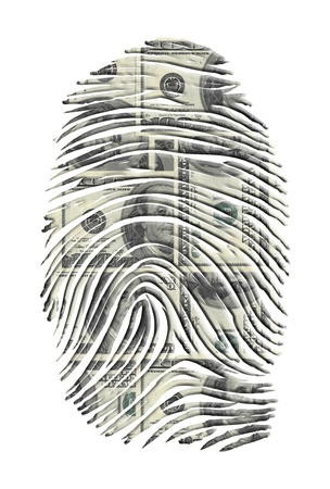 US Dollars FInger Print photo