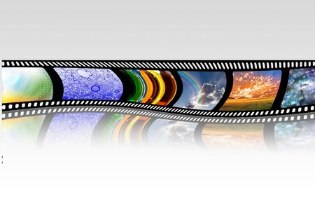 film tape: FIlm Strip Stock Photo