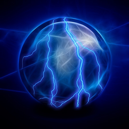 Crystal Ball Electric Stock Photo - 21639447
