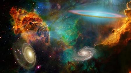 star dust: Deep Space Stock Photo