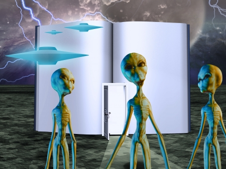 Aliens Story Book photo