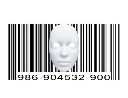 forensics: Mask with Bar code
