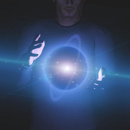 creador: Cierne Planet entre manos