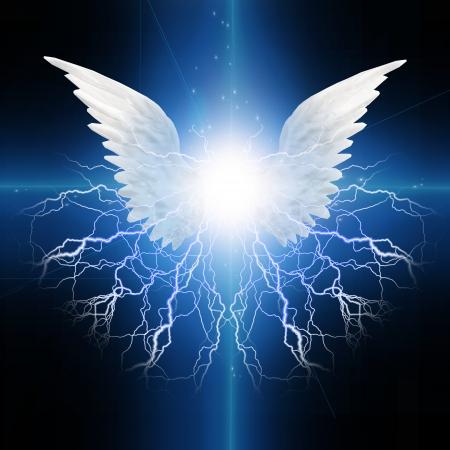 Angel winged photo