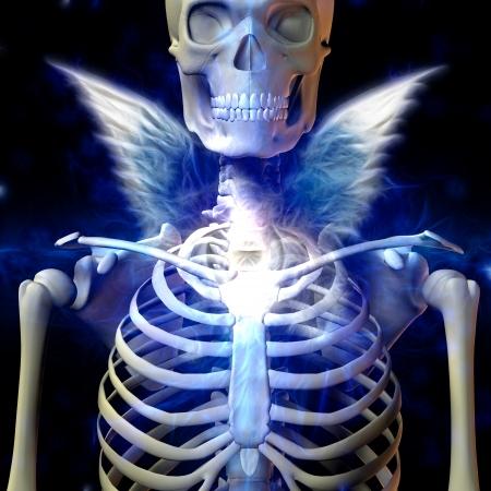 dark angel: Dark Angel Stock Photo
